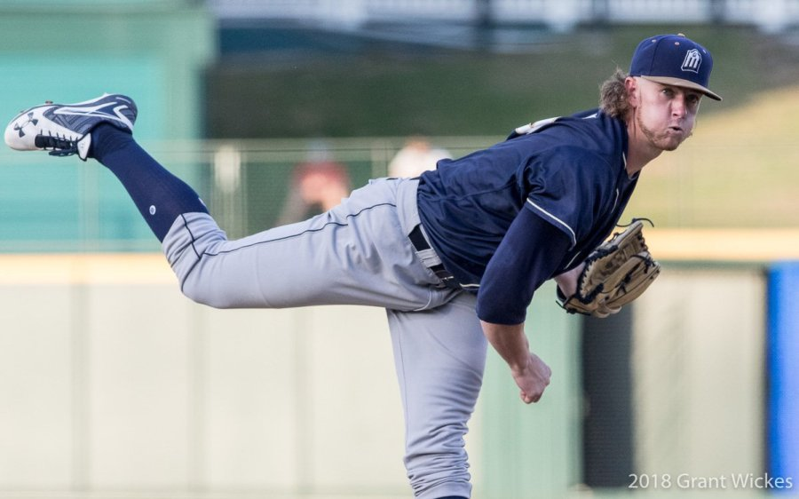 Padres Prospect Chris Paddack pitches for San Antonio Missions