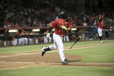 Padres prospect Ty France hitting for El Paso