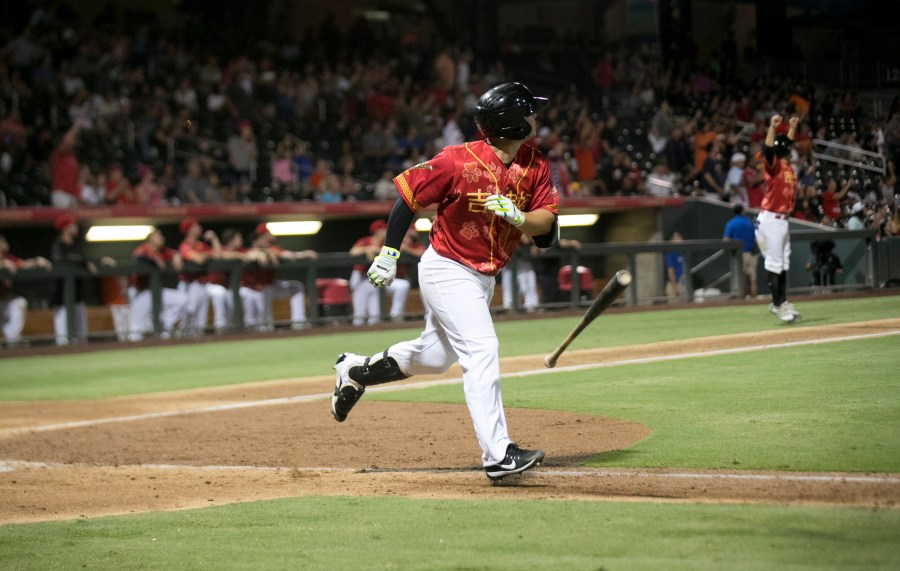 Ty France Padres prospect bats for El Paso Chihuahuas