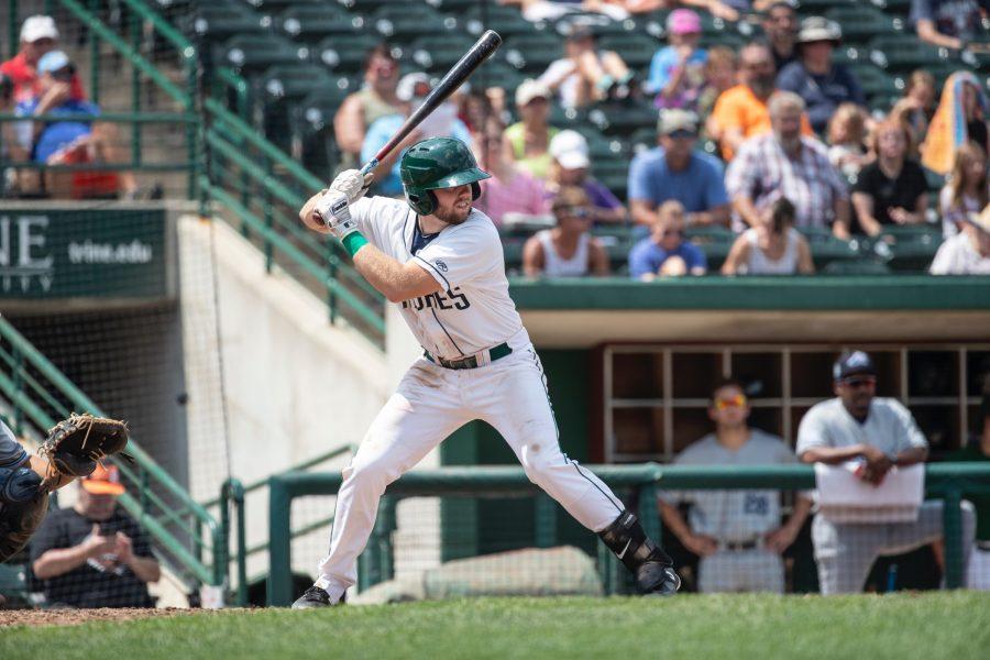 Owen Miller, San Diego Padres prospect bats for Fort Wayne TinCaps