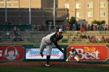 Luis Patiño, Padres pitching prospect for Fort Wayne TinCaps