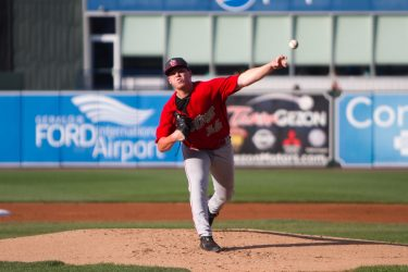 Ryan Weathers, San Diego Padres prospect pitches for Fort Wayne TinCaps