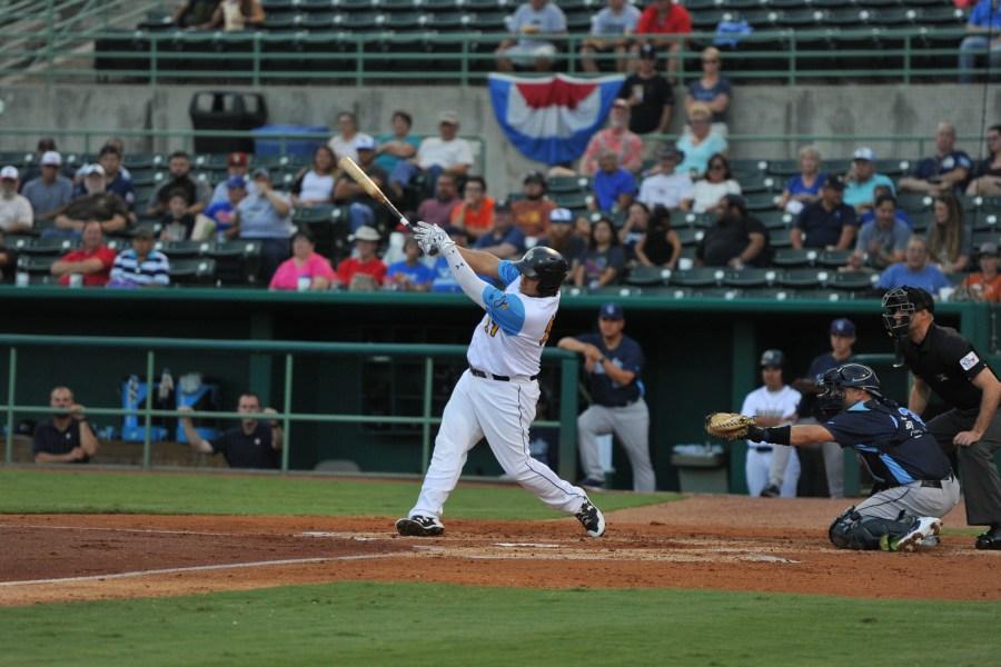 Josh Naylor, Padres prospect batting for San Antonio Missions
