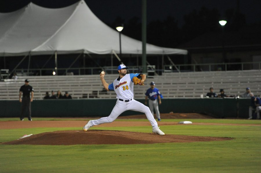 San Diego Padres prospect Jesse Scholtens pitches for San Antonio Missions