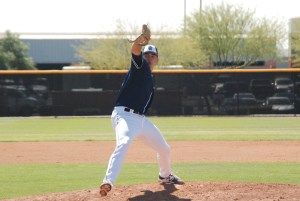 San Diego Padres LHP prospect Joey Cantillo