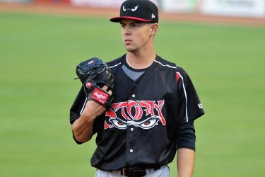 Padres prospect MacKenzie Gore pitching for Lake Elsinore Storm