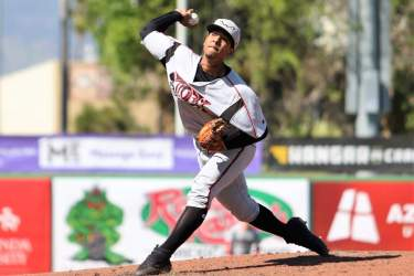 Luis Patino, Padres pitching prospect with Lake Elsinore Storm