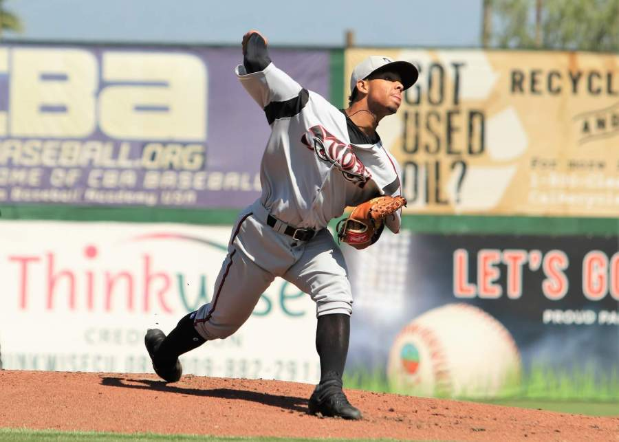 Luis Patiño Padres prospect pitches for Lake Elsinore Storm