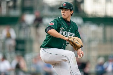 Padres prospect Joey Cantillo pitching for Fort Wayne TinCaps