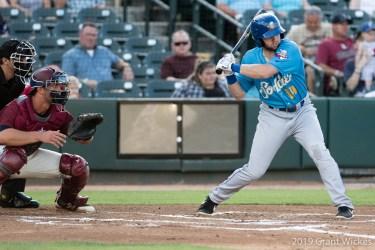 Padres prospect Owen Miller bats for Amarillo Sod Poodles