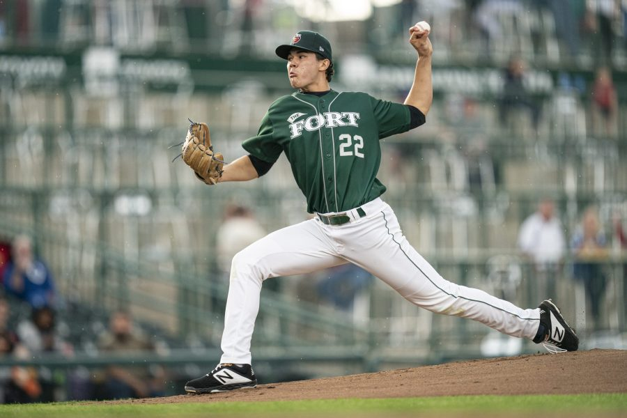 Padres pitching prospect Joey Cantillo for Fort Wayne TinCaps