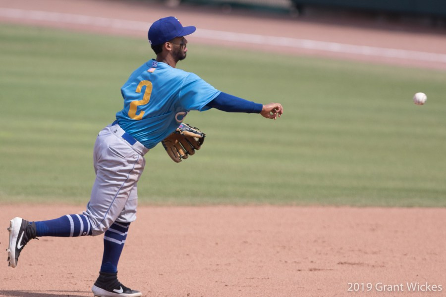 Padres prospect Ivan Castillo for Amarillo Sod Poodles