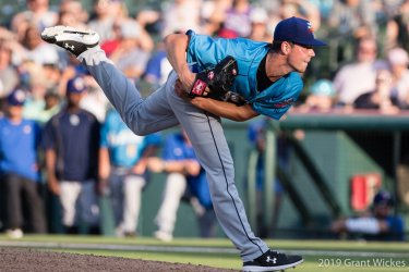 Padres prospect MacKenzie Gore pitches for Amarillo Sod Poodles