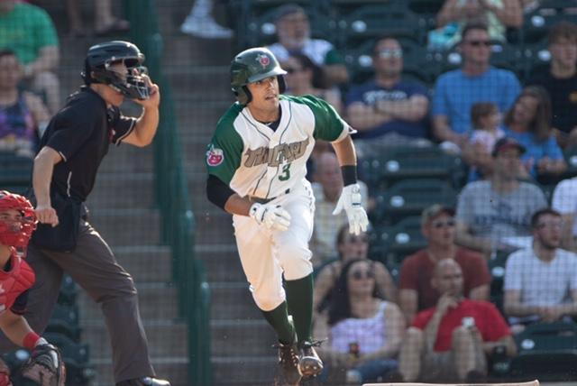 Ethan Skender, Padres prospect bats for Fort Wayne TinCaps