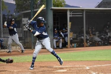 Padres prospect Junior Perez bats in the AZL