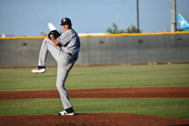 Carlos Guarate San Diego Padres pitching prospect
