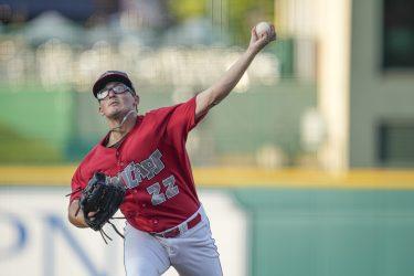 Padres prospect Danny Denz pitches for Fort Wayne TinCaps