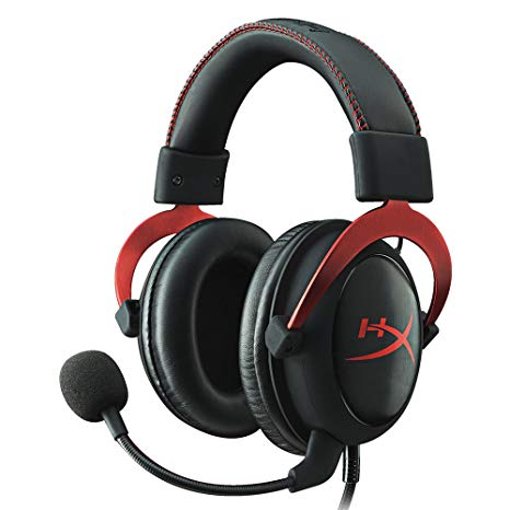 Casque Hyper Cloud II rouge