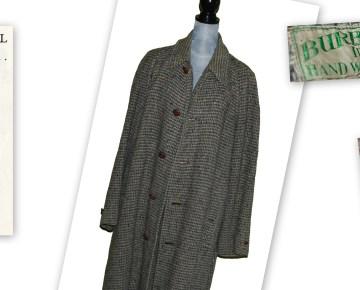 The burberry coat