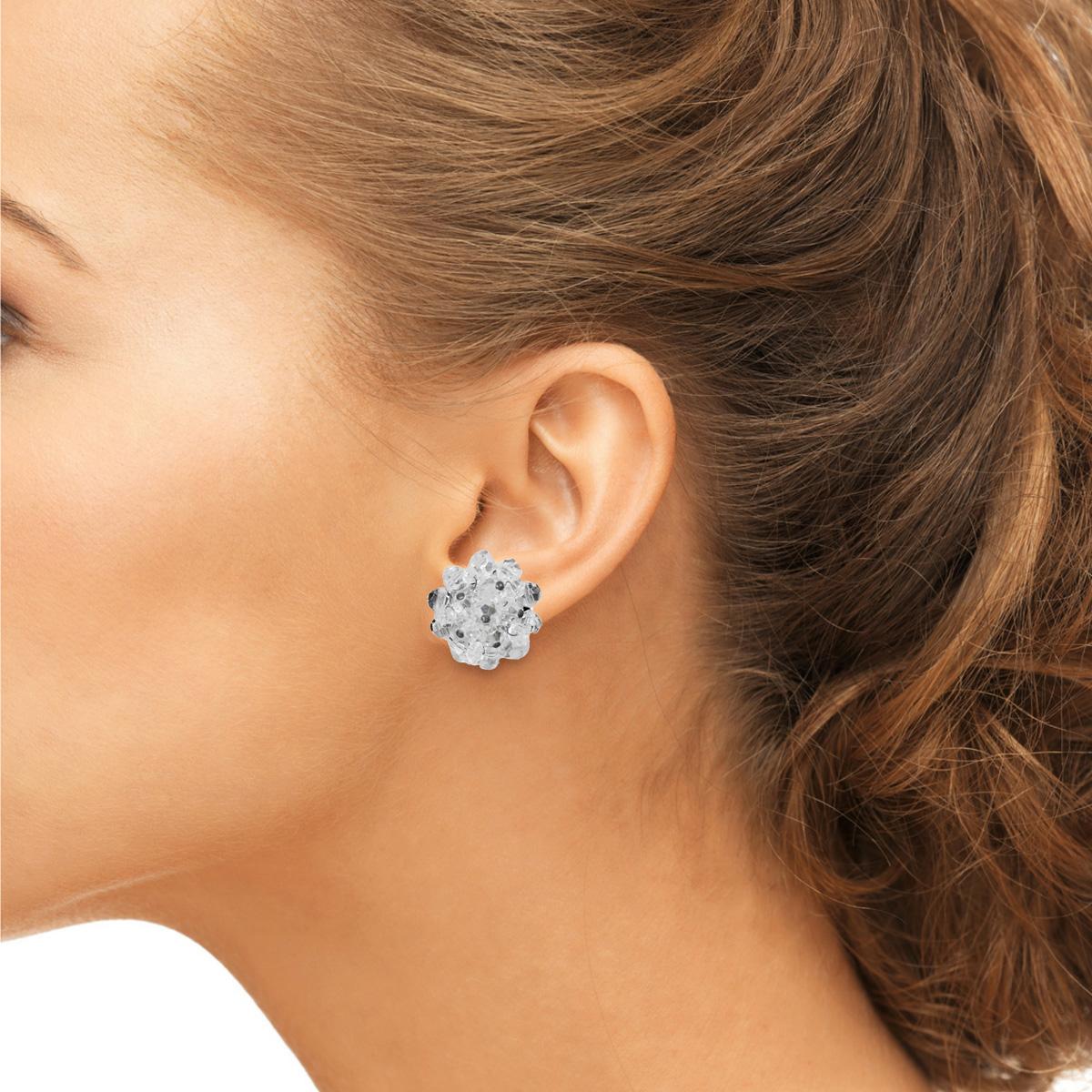 vintage beaded earrings
