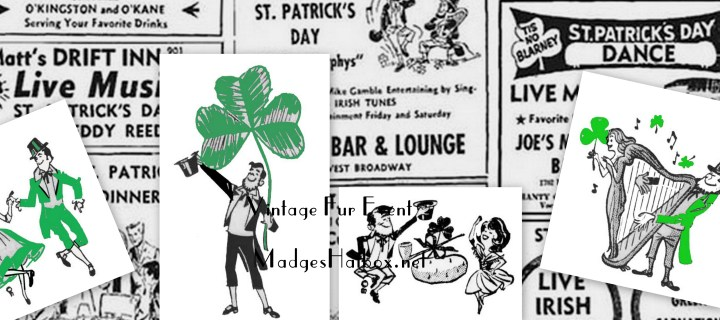 Corn Beef, Vintage Ads & Happy St Patricks