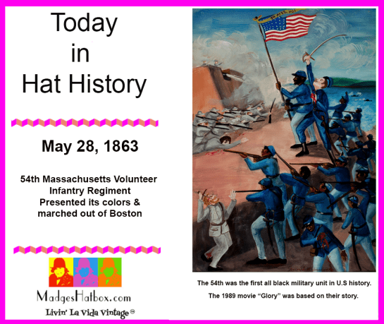 May 28 Today in Hat History