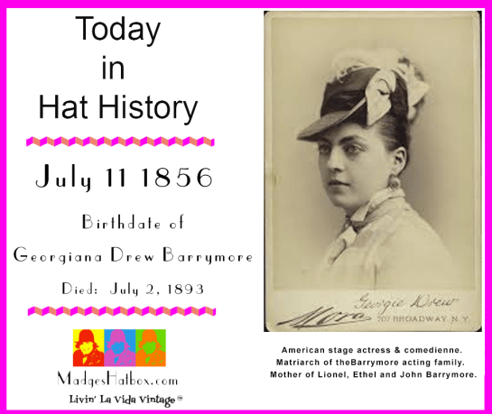 July 11 Today in Hat History