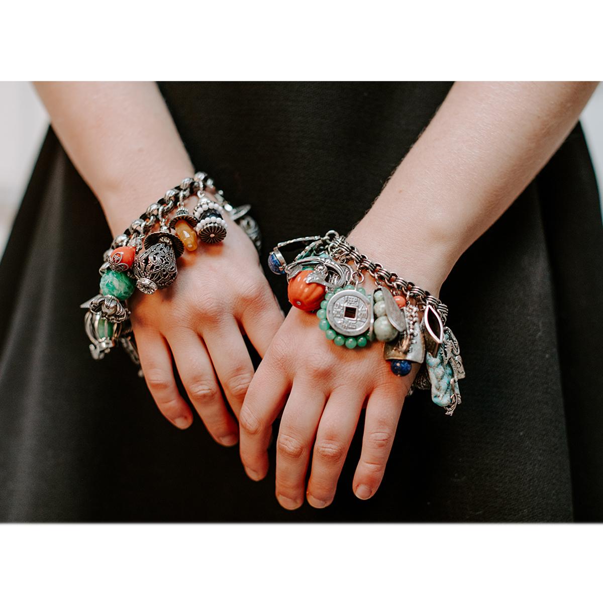 vintage charm bracelets