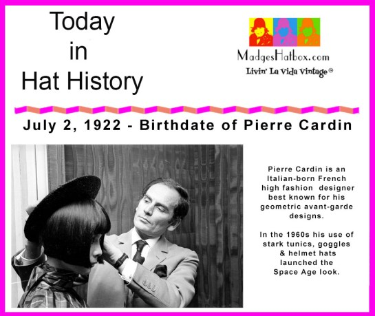 Today in Hat History