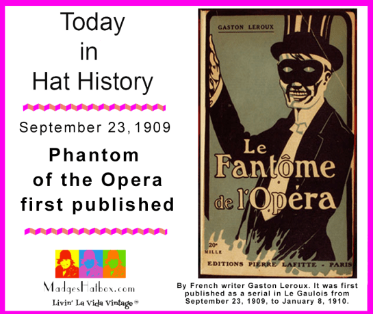 September 23 today in hat history