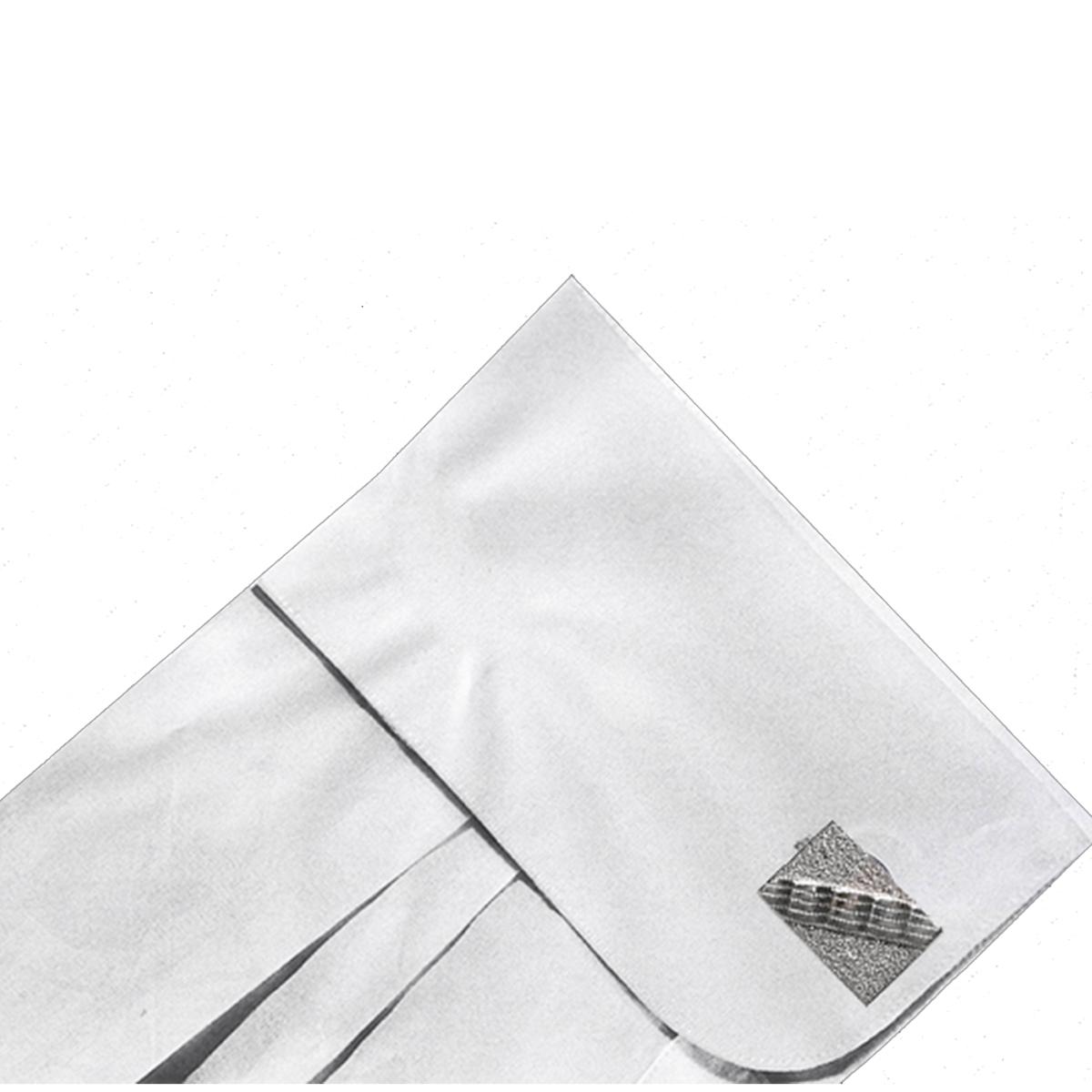 Silver art deco cufflinks