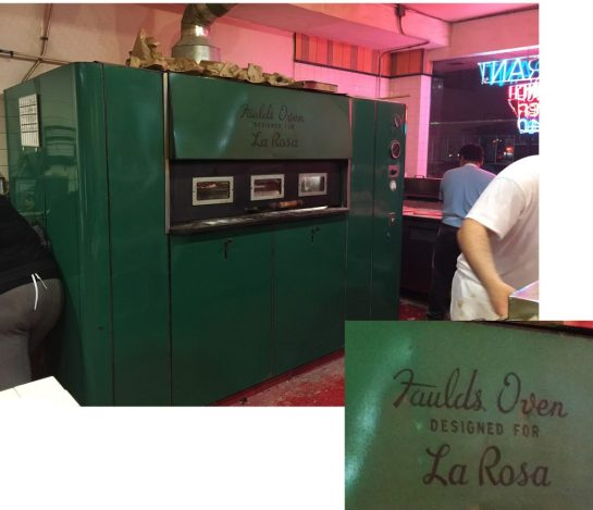 Faulds Pizza Oven