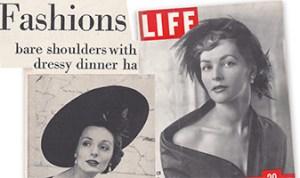 life magazine hat fashions