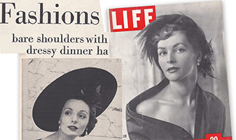 life magazine hat fashions