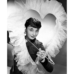 Happy Valentines Day Audrey Hepburn