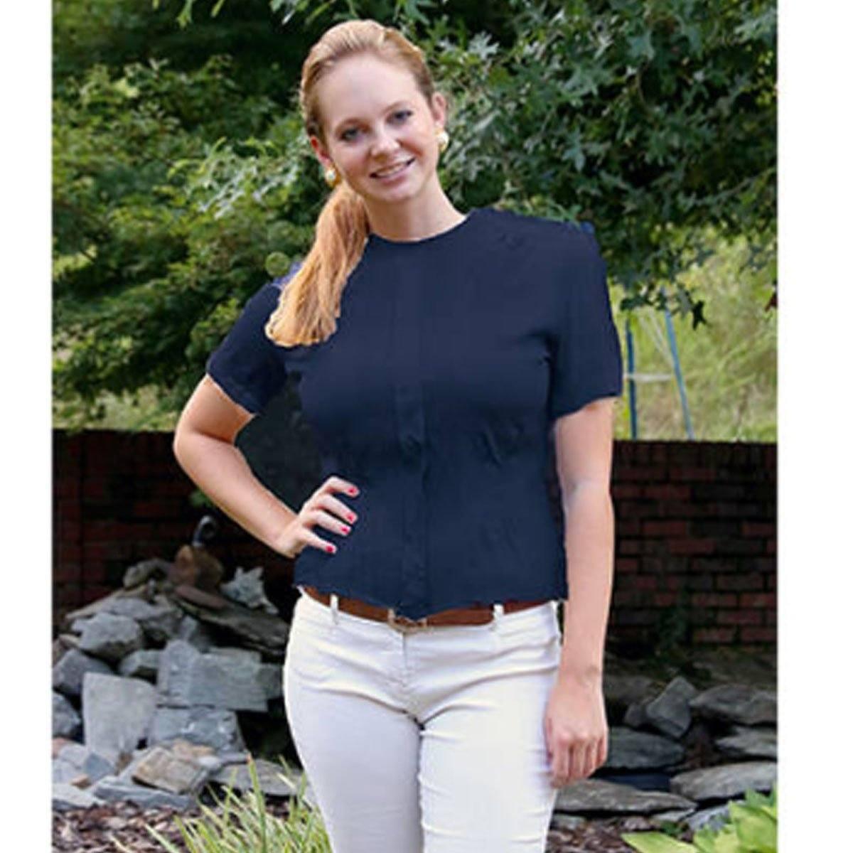 Vintage 50s Navy Blue MacShore Short Sleeve Shirt