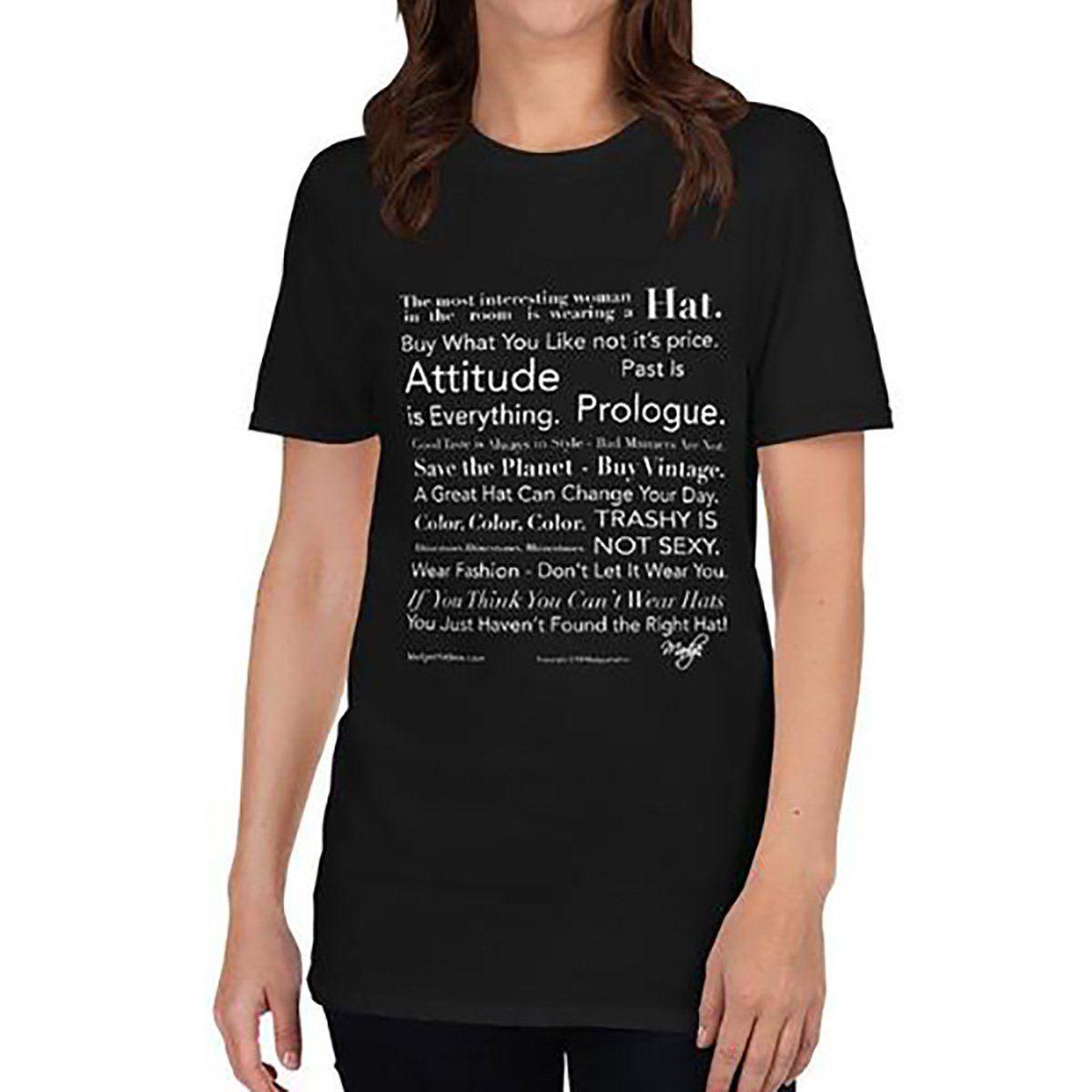 Fashion Manifesto Black T-Shirt