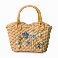 daisy straw bag