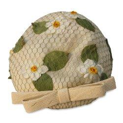 Vintage 60s, Lilly Dache Hat, Tan Bubble Turban