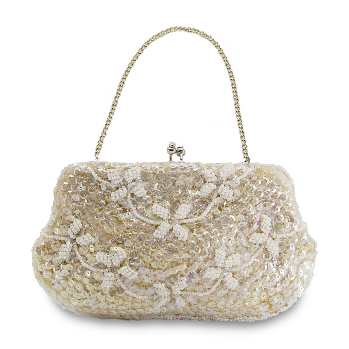Small beaded handbag