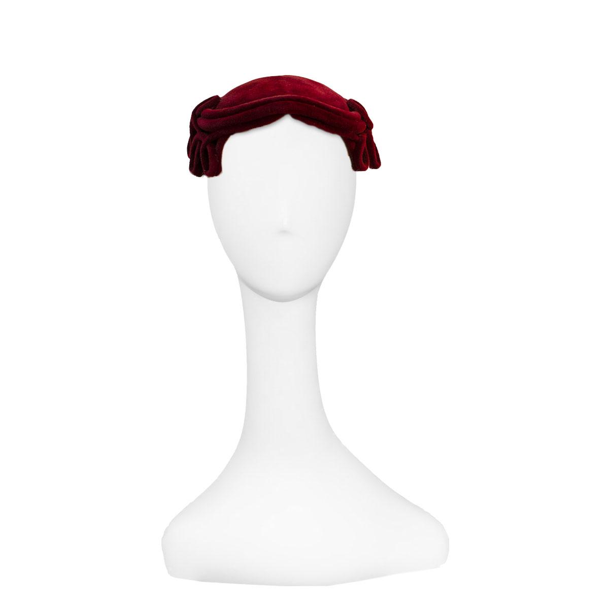 1950s half hat