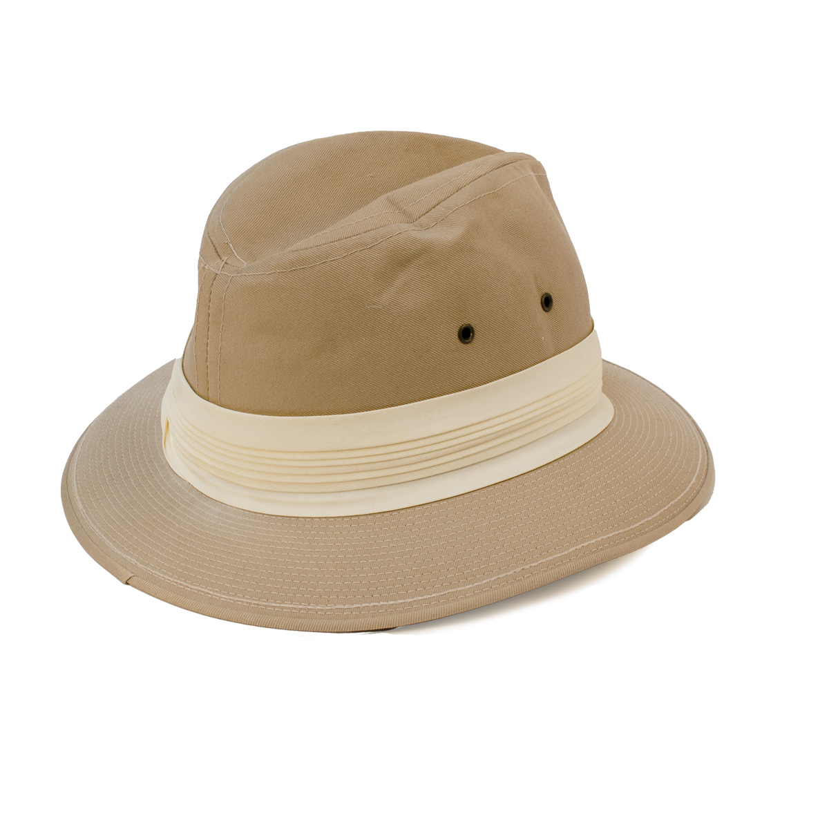 Adams Fedora Canvas hat