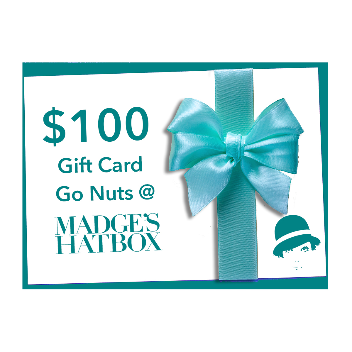 $100 MadgesHatbox Gift Card