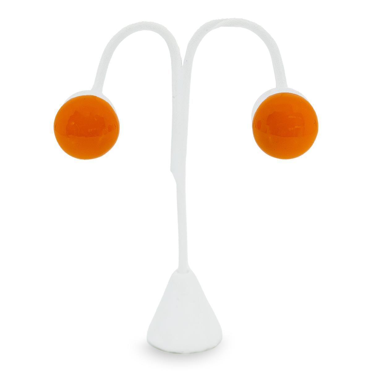 ball clip earrings