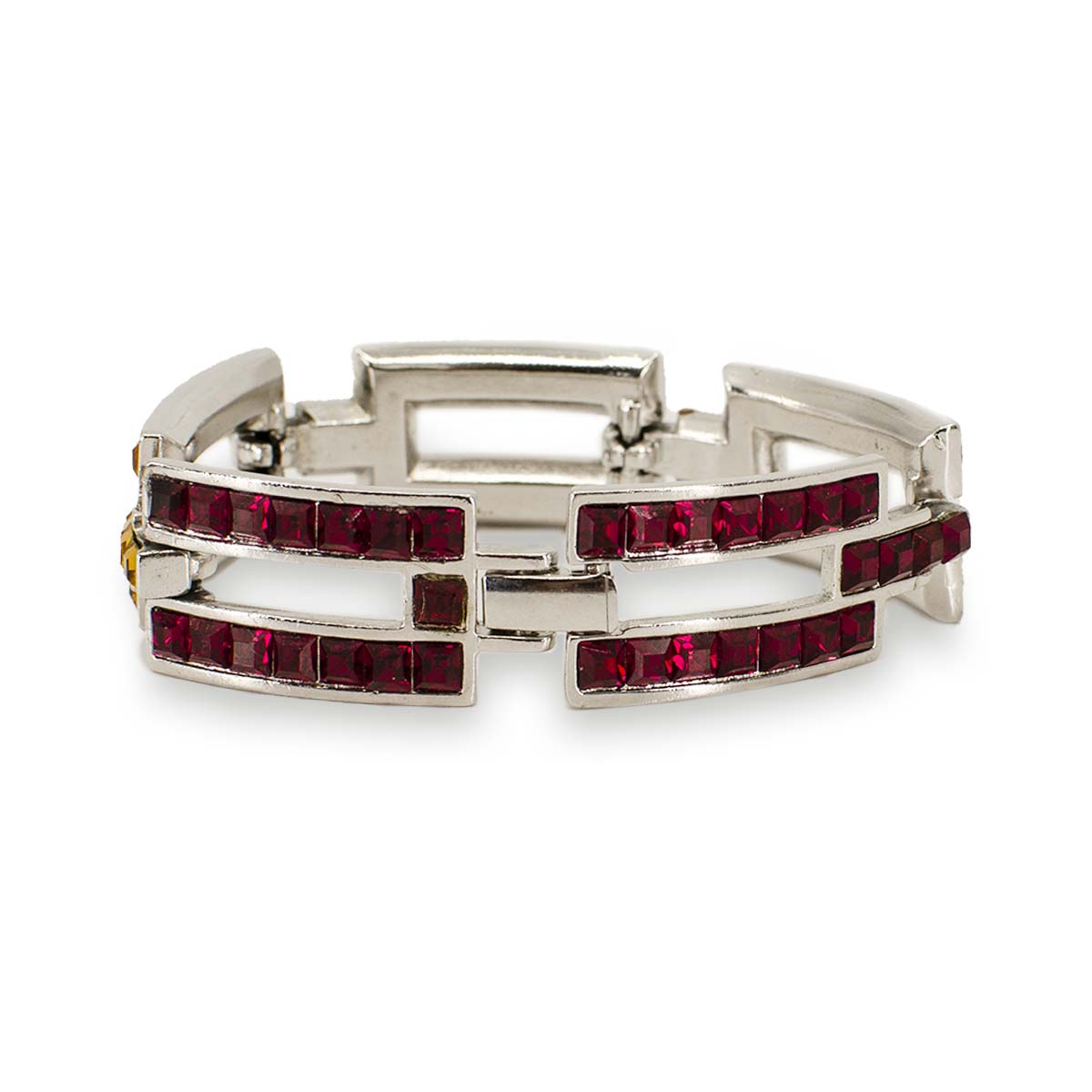 YSL Link Bracelet, Yves Saint Laurent Crystals