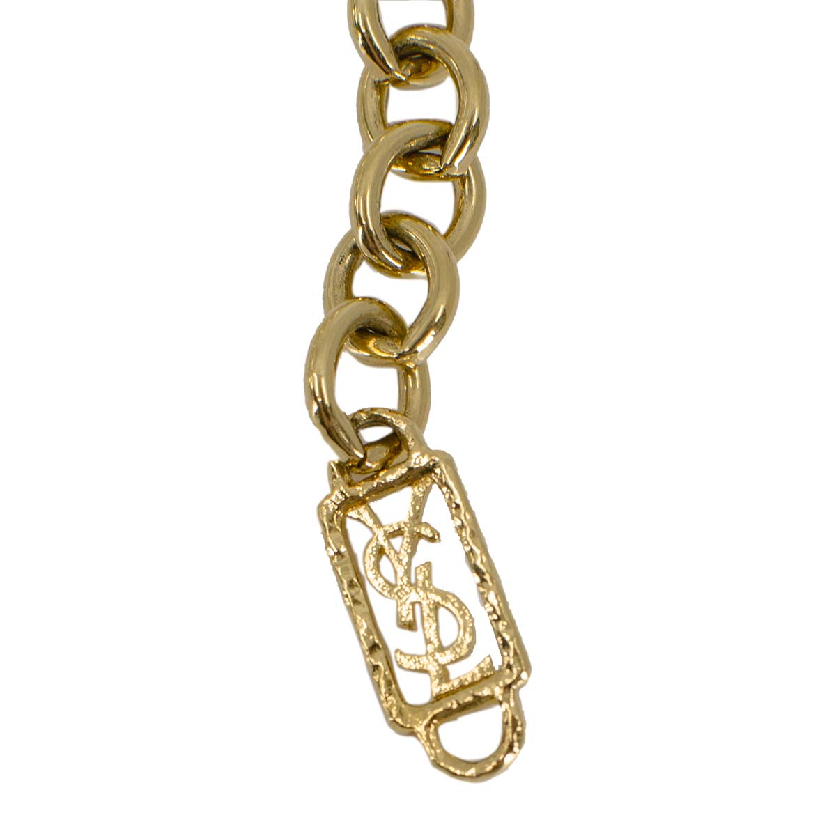YSL jewelry tag, yves saint laurent