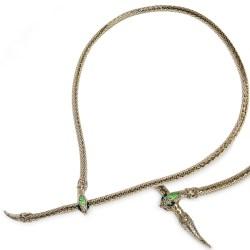 gold snake belt