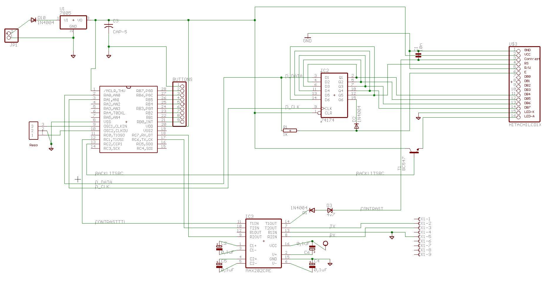 Wrg Rs232 Schematic