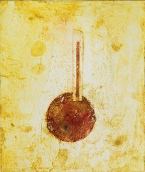 A Barometer for Addiction High Pressure, 2017; collagraph, engraving; 10 x 8 inches
