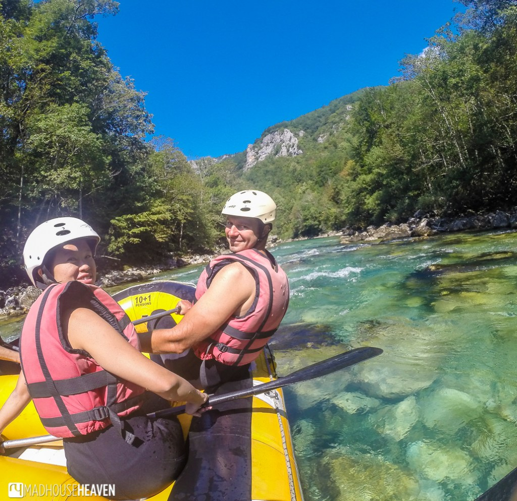Rafting in Tara Canyon